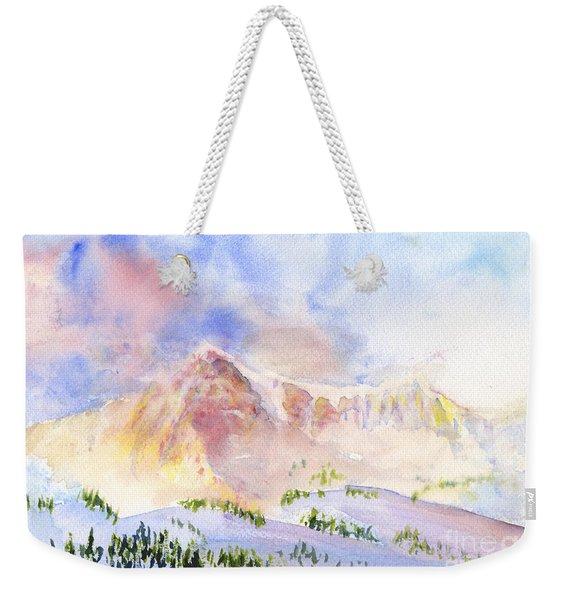 Sunrise On Mount Ogden Weekender Tote Bag