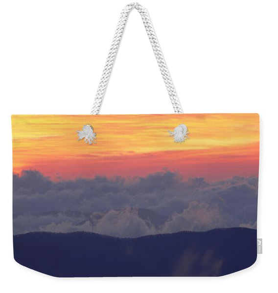 Sunrise Over Clingmans Dome, Great Weekender Tote Bag