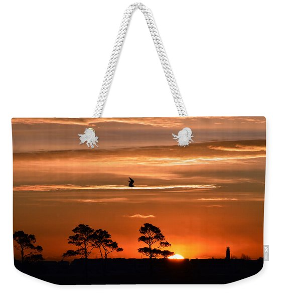 Sunrise Over Fenwick Island Weekender Tote Bag