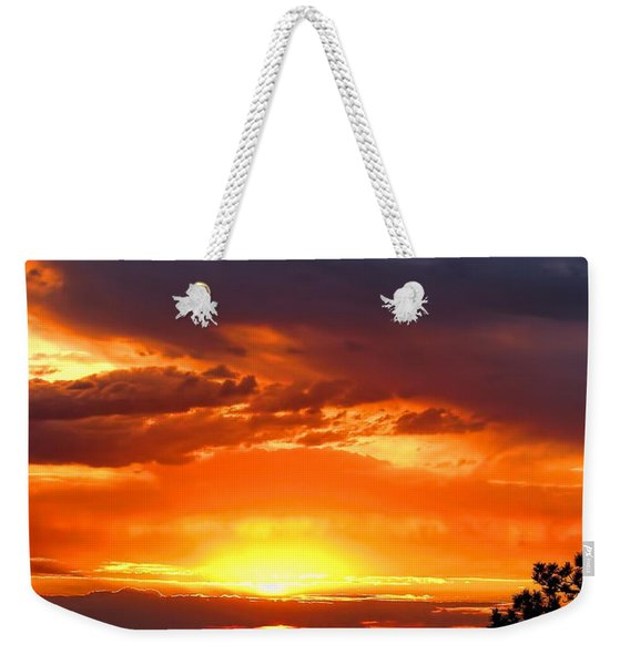 Sunrise Over Keystone Weekender Tote Bag