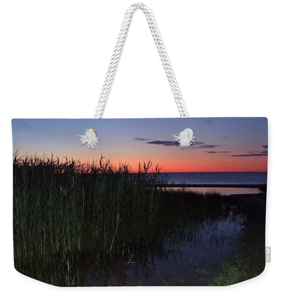 Sunrise Over Lake Huron Weekender Tote Bag
