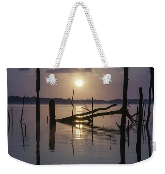Sunrise Over Manasquan Reservoir Weekender Tote Bag