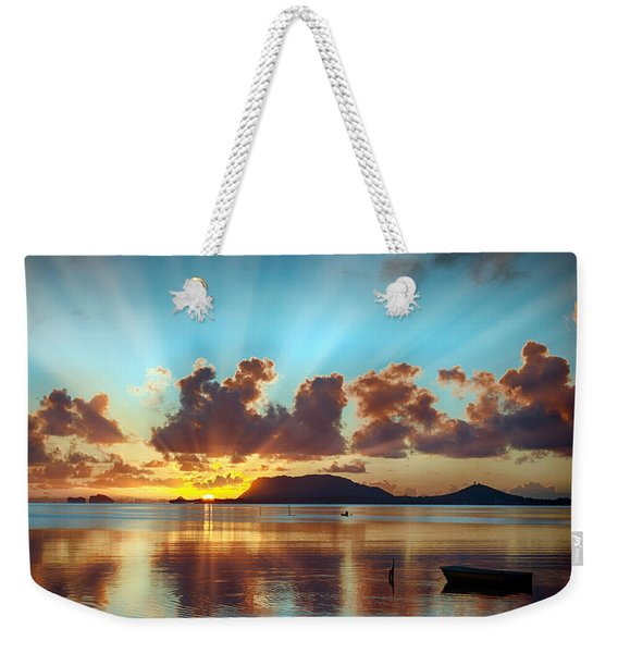 Sunrise Over Marine Corps Base Hawaii Weekender Tote Bag