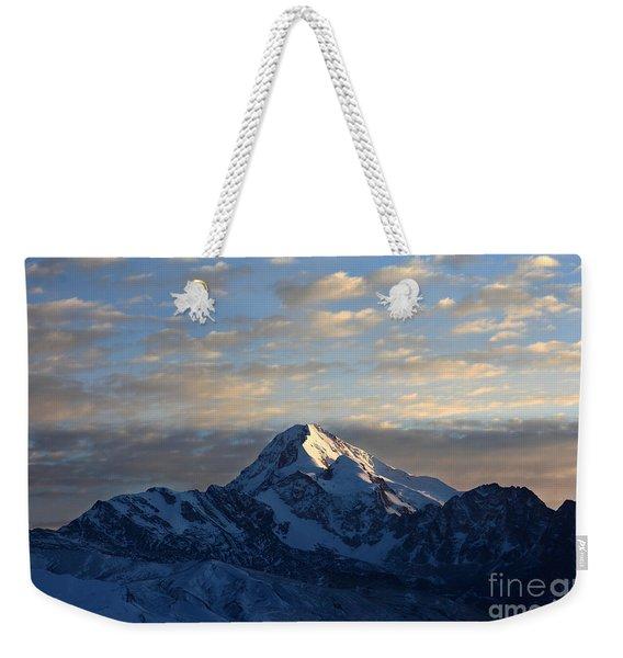 Sunrise Over Mt Huayna Potosi Weekender Tote Bag