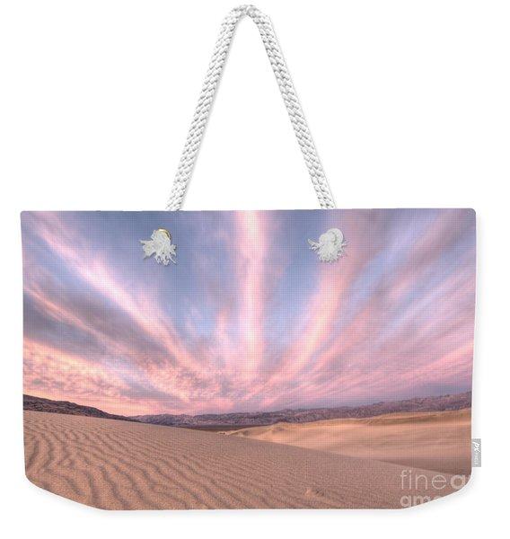 Sunrise Over Sand Dunes Weekender Tote Bag