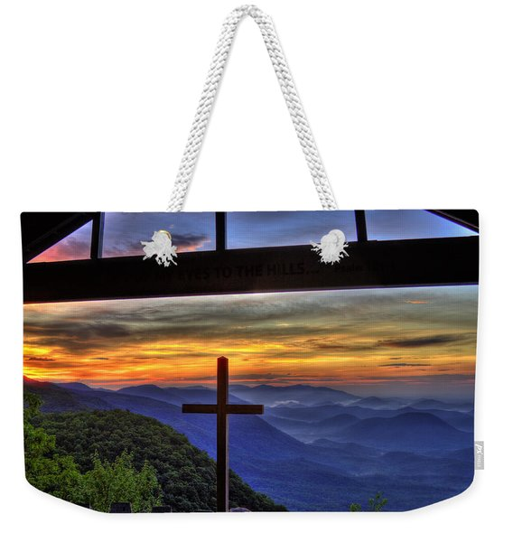 Pretty Place Chapel 8overlook Sunrise Art Weekender Tote Bag