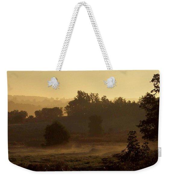 Sunrise Over The Mist Weekender Tote Bag