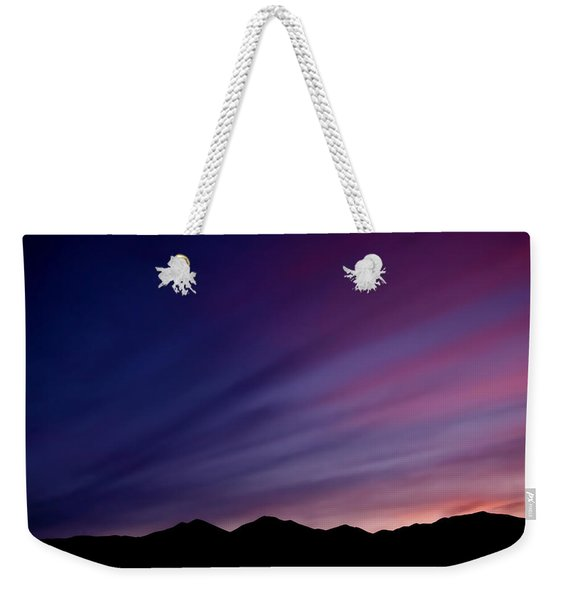 Sunrise Over The Mountains Weekender Tote Bag