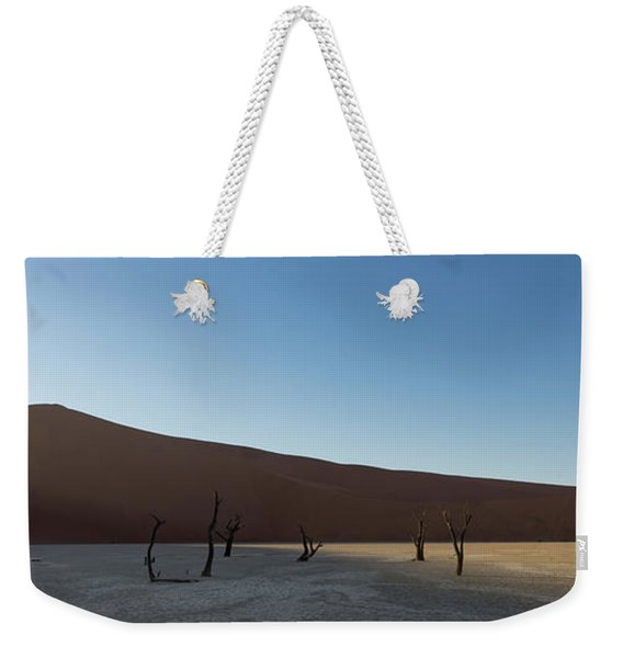 Sunrise Starts To Light Up The Sand Weekender Tote Bag
