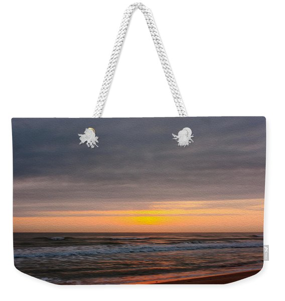 Sunrise Under The Clouds Weekender Tote Bag