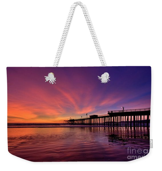 Sunset Afterglow Weekender Tote Bag