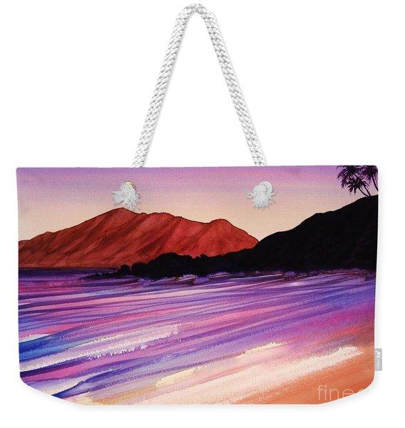 Sunset At Black Rock Maui Weekender Tote Bag