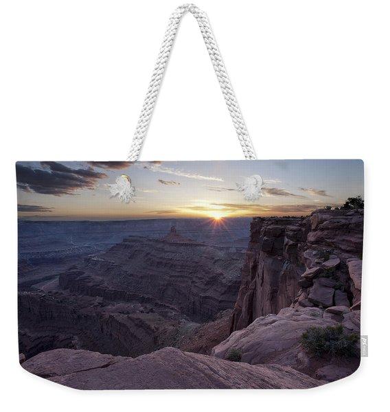 Sunset At Deadhorse Point Weekender Tote Bag