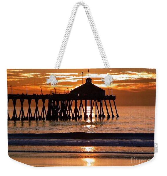 Sunset At Ib Pier Weekender Tote Bag