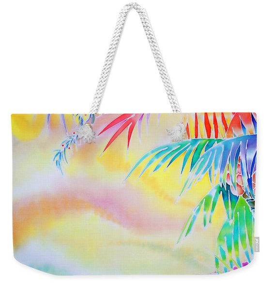 Sunset At Kuto Beach Weekender Tote Bag