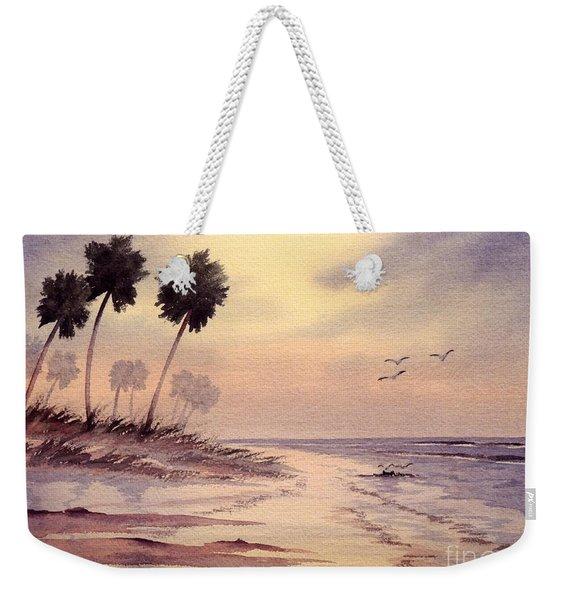 Sunset Beach Tarpon Springs Weekender Tote Bag