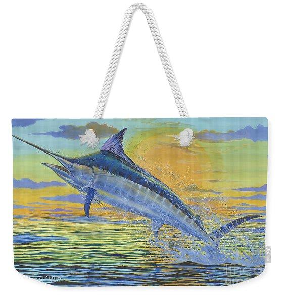 Sunset Blue Off0085 Weekender Tote Bag