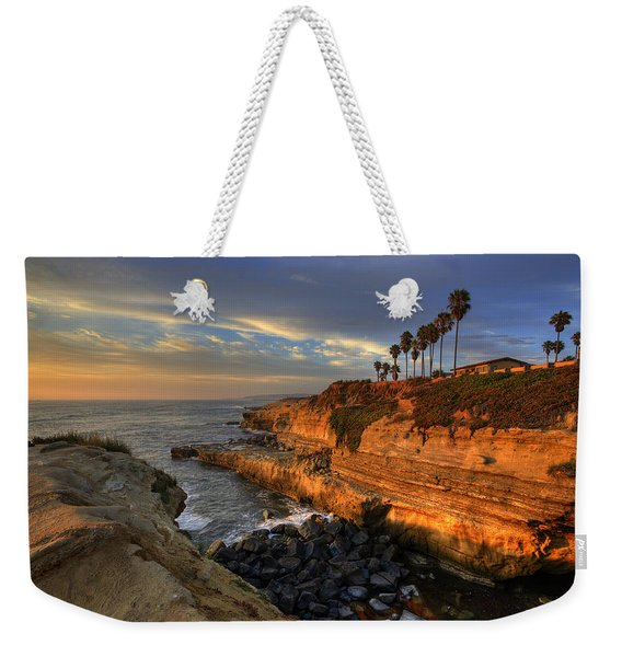 Sunset Cliffs Weekender Tote Bag