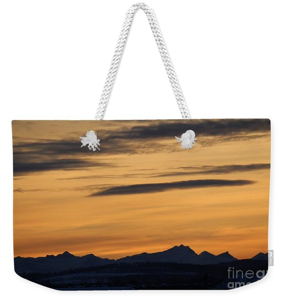 Sunset From 567 Weekender Tote Bag