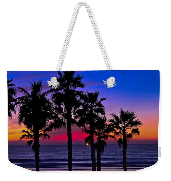 Sunset From The Ocean Park Inn Weekender Tote Bag