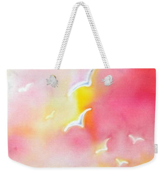Sunset In Costa Brava Weekender Tote Bag