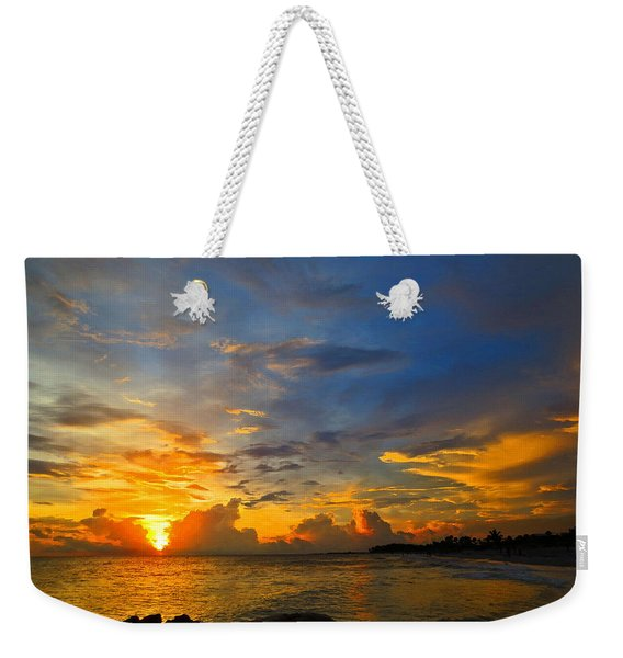Sunset In Paradise - Beach Photography By Sharon Cummings Weekender Tote Bag