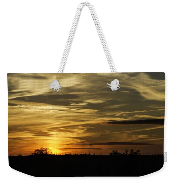 Sunset In The Forest Weekender Tote Bag
