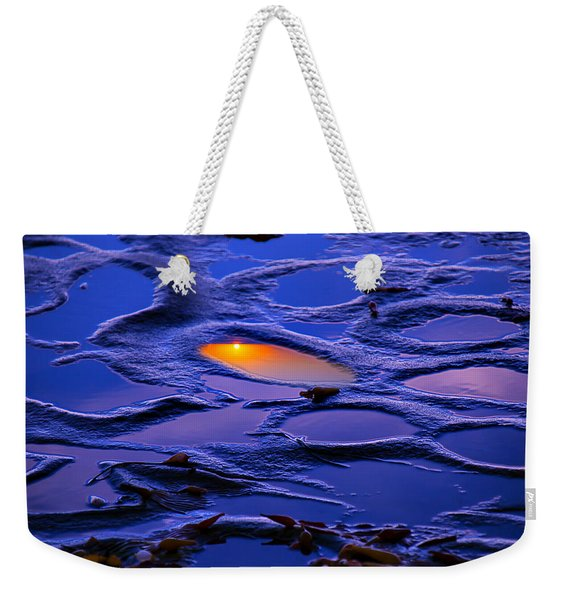 Sunset In Tide Pools Weekender Tote Bag