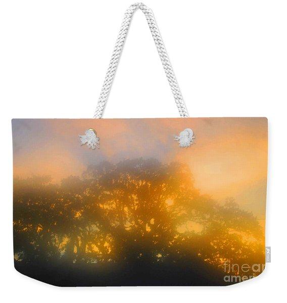 Sunset Mocks Sunrise Weekender Tote Bag