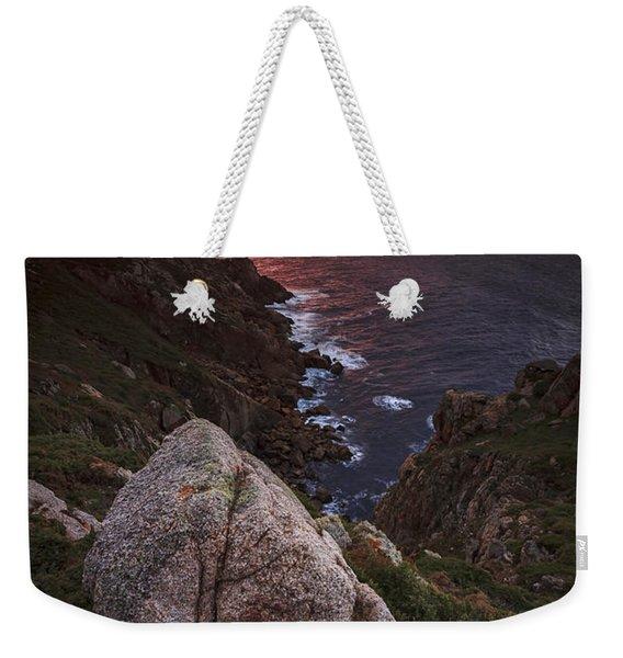 Sunset On Cape Prior Galicia Spain Weekender Tote Bag