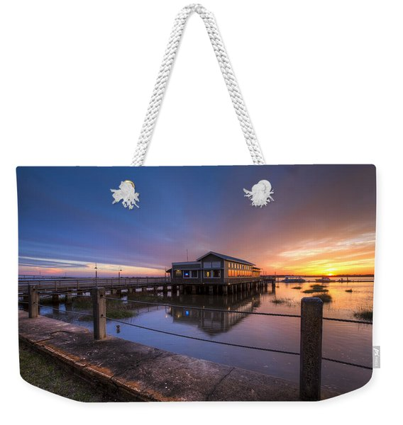 Sunset On Jekyll Island Weekender Tote Bag