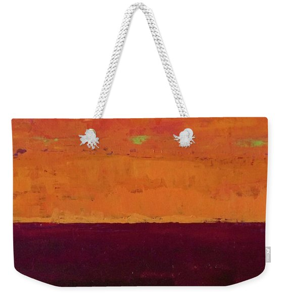 Sunset On The Pier Weekender Tote Bag