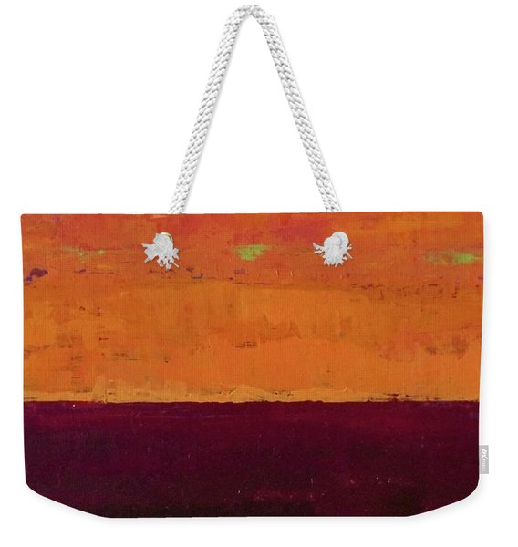 Sunset On The Pier Weekender Tote Bag