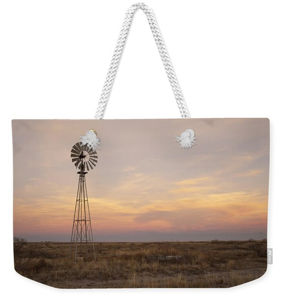 Sunset On The Texas Plains Weekender Tote Bag