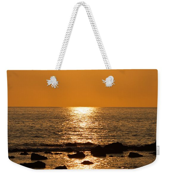 Sunset Over Kona Weekender Tote Bag