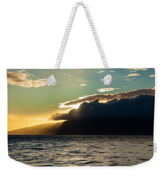 Sunset Over Lanai   Weekender Tote Bag
