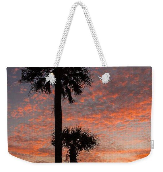 Sunset Over Marsh Weekender Tote Bag