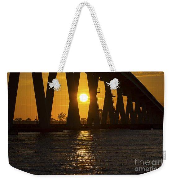 Sunset Over Sanibel Island Photo Weekender Tote Bag