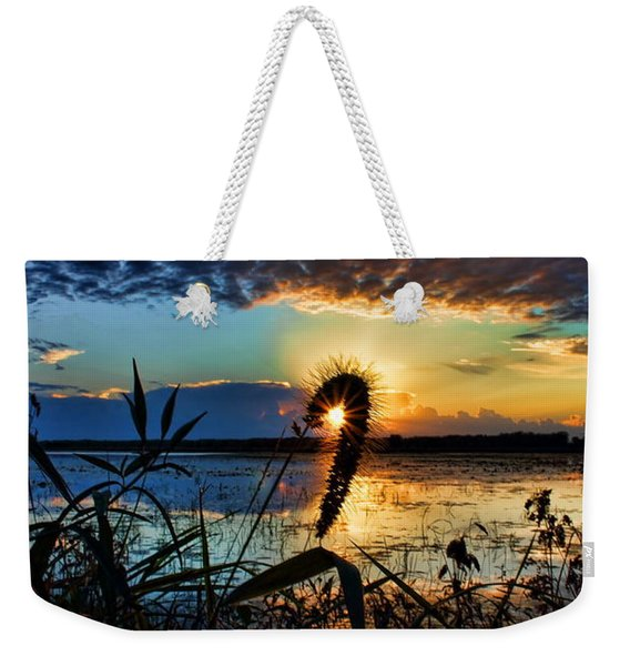 Sunset Over The Refuge Weekender Tote Bag