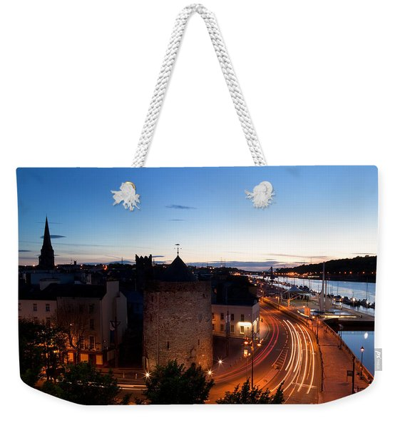 Sunset Over Waterford City, County Weekender Tote Bag