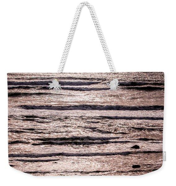 Sunset Ocean Weekender Tote Bag