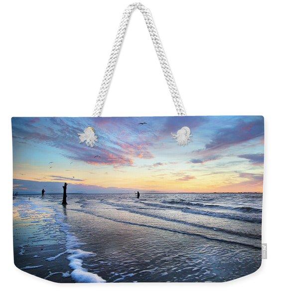 Sunset Paradise Jekyll Island  Weekender Tote Bag