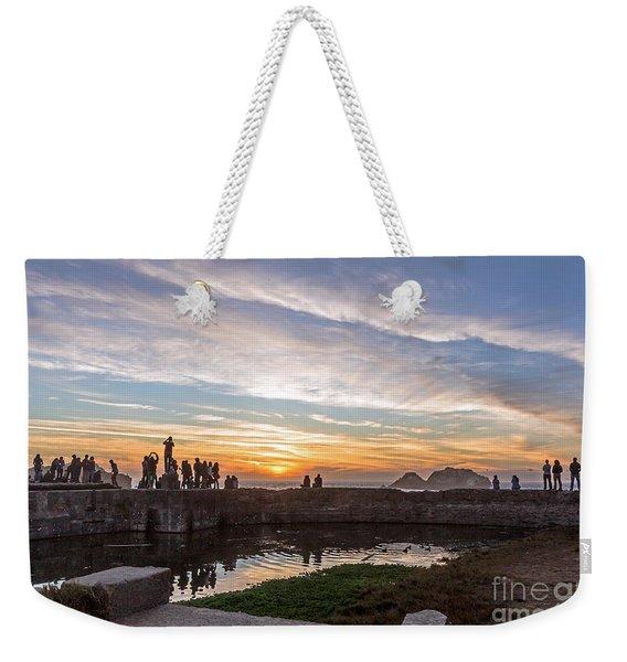 Sunset Party Weekender Tote Bag