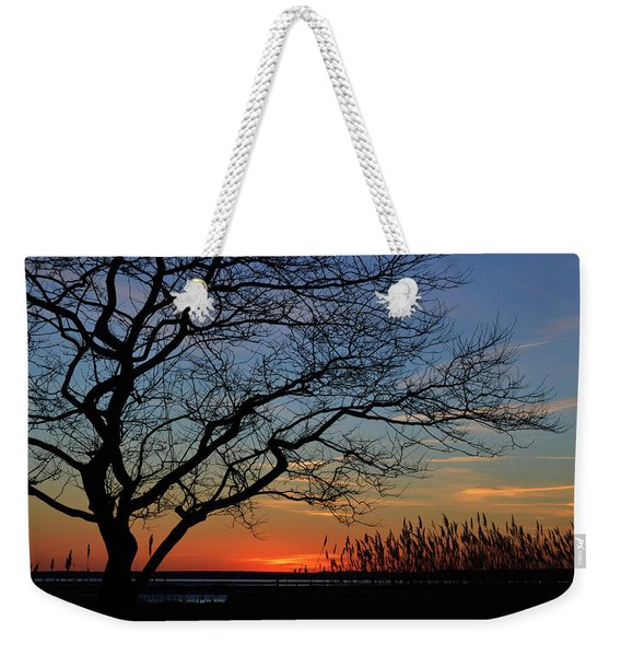 Sunset Tree In Ocean City Md Weekender Tote Bag