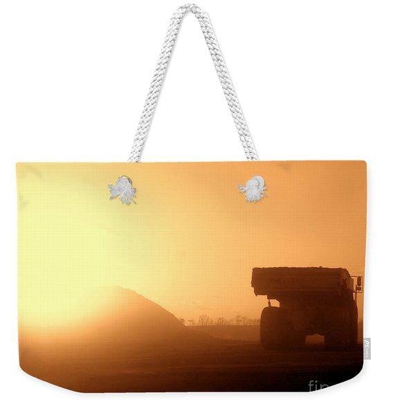Sunset Truck Weekender Tote Bag