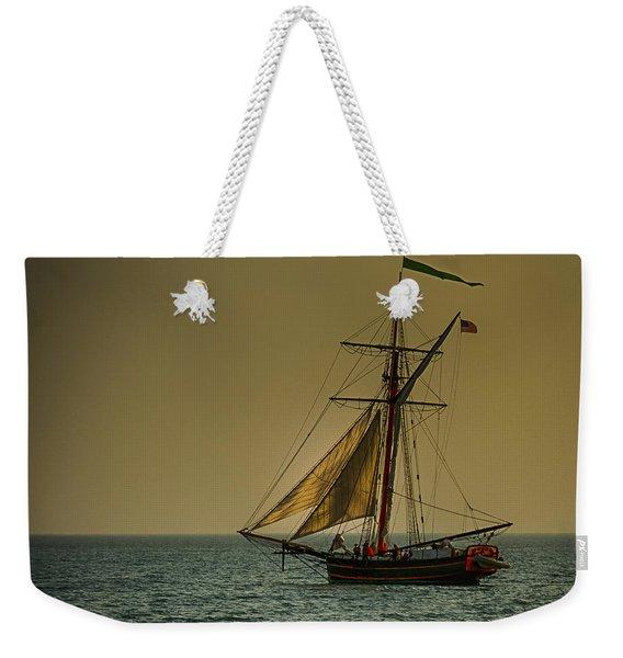 Sunset Voyage Weekender Tote Bag