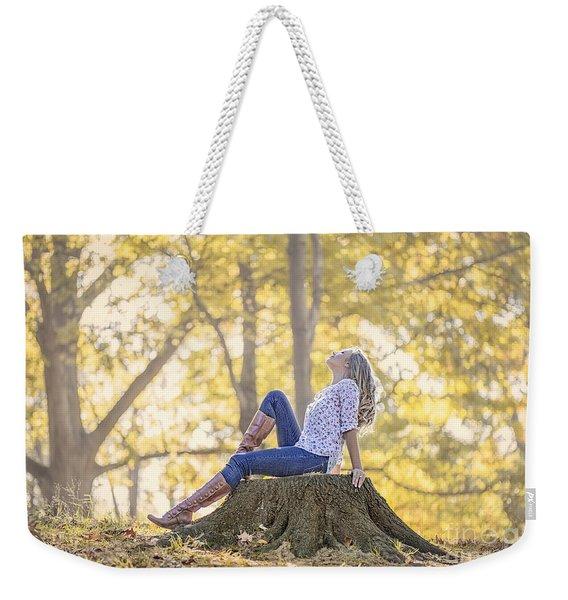 Sunshine Ecstasy Weekender Tote Bag