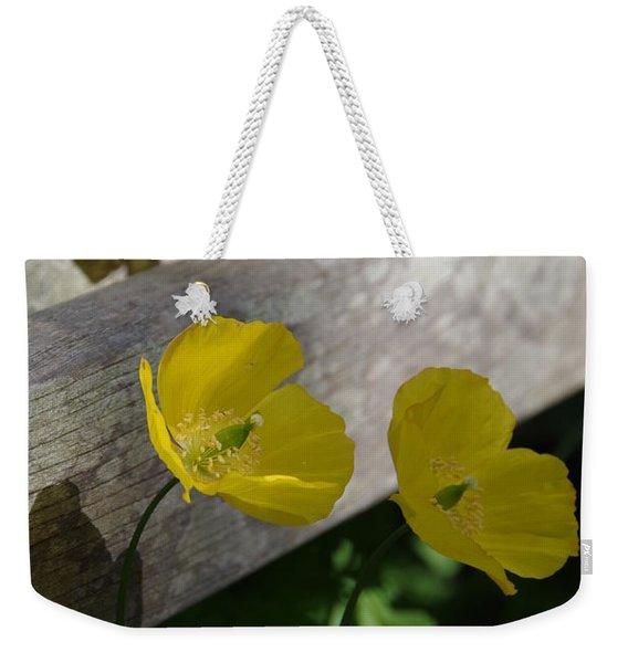Sunshine Yellow Weekender Tote Bag
