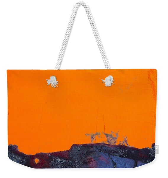 Sunstorm No. 2 Weekender Tote Bag