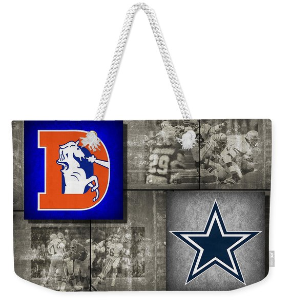 Super Bowl 12 Weekender Tote Bag